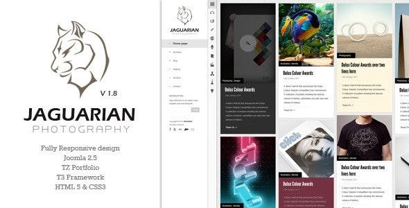 Jaguarian - Responsive Joomla Template - Creative Joomla