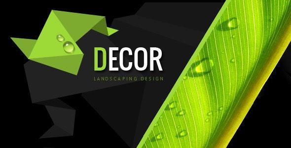 Decor - Creative PSD Template - Portfolio Creative