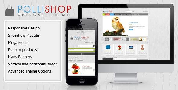 Pollishop - OpenCart Theme - Shopping OpenCart