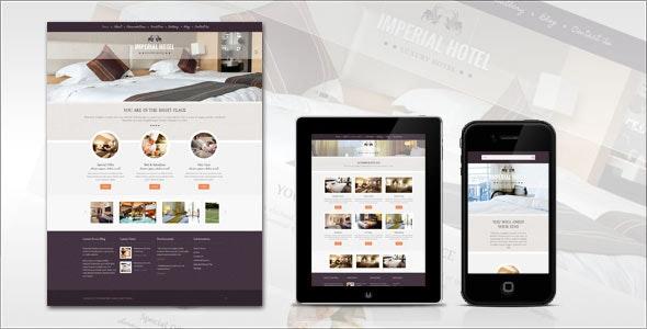 Imperial: Hotel WordPress Theme - Travel Retail