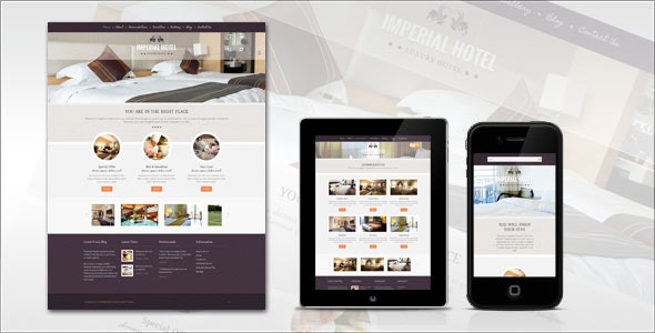 Imperial: Hotel WordPress Theme - Travel Retail