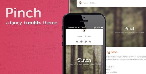 Pinch - a fancy tumblr theme - Blog Tumblr