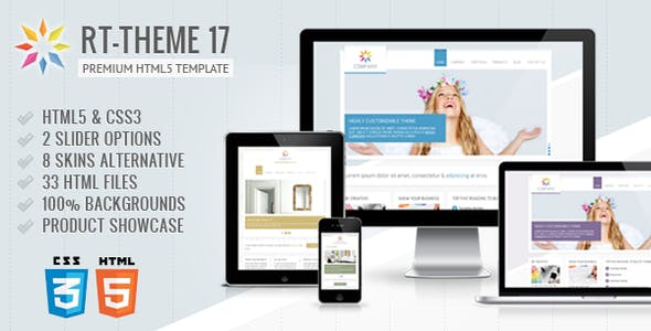 RT-Theme 17 Premium HTML5 Template