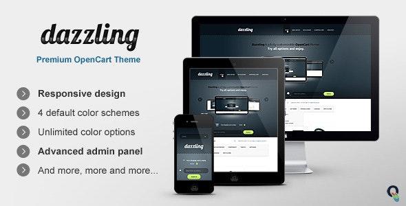 Dazzling OpenCart Premium Theme - Miscellaneous OpenCart