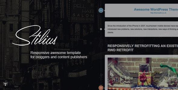 Stilus - Responsive HTML Template - Creative Site Templates