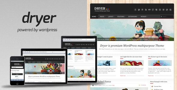 Dryer - Multipurpose WordPress Theme - Blog / Magazine WordPress