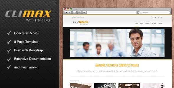 Climax - Responsive Concrete5 Theme