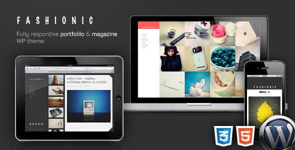 Fashionic - Portfolio/Magazine WordPress Theme - Portfolio Creative
