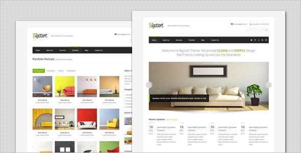 BigStart - Clean and Flexible WordPress Theme - Business Corporate