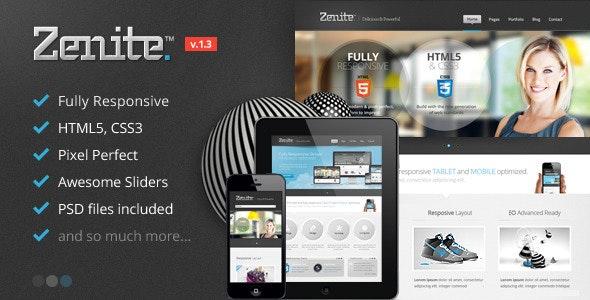 Zenite - Responsive HTML5 Template - Business Corporate