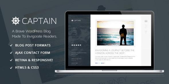 Captain - A Brave & Invigorating WordPress Theme by Shorti | ThemeForest