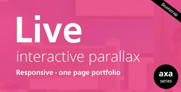 LIVE - Interactive Parallax - Responsive HTML5