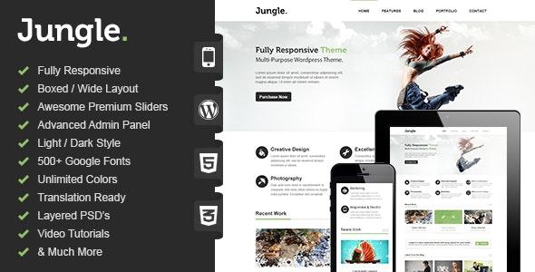 Jungle - Responsive Multi-Purpose WordPress Theme - Corporate WordPress