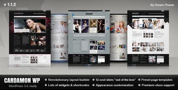 Cardamon WP — Multipurpose WordPress Theme - Corporate WordPress