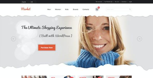 Market - eCommerce, Retail, Shopping PSD