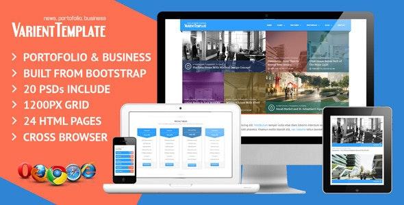 Varient Responsive Multi Purpose Template - Portfolio Creative