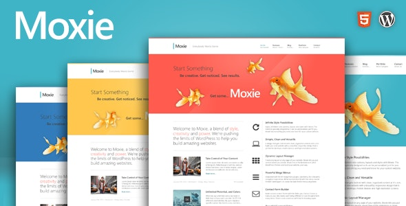 Moxie - Responsive Theme for WordPress - Marketing Corporate