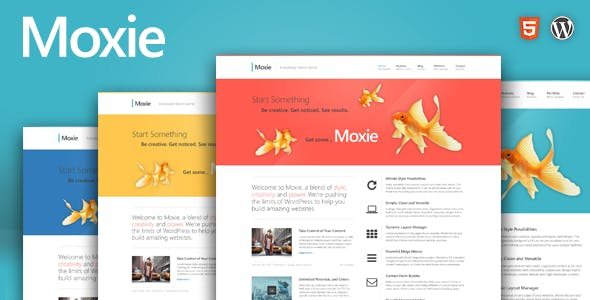 Moxie - Responsive Theme for WordPress