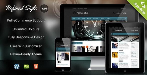 Refined Style - Wordpress Jigoshop eCommerce Theme - Jigoshop eCommerce
