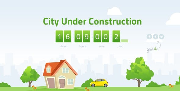 Animated City Under Construction