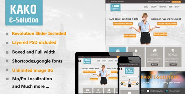 Kako Multi-Purpose WordPress Theme - Creative WordPress