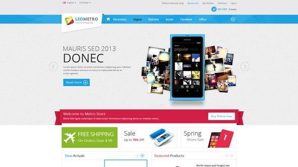 Leo Metro PrestaShop 1.6 & 1.7 Theme for Mobile & Electronic Shop - Technology PrestaShop