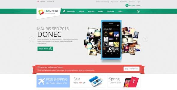 Leo Metro PrestaShop 1.6 & 1.7 Theme for Mobile & Electronic Shop