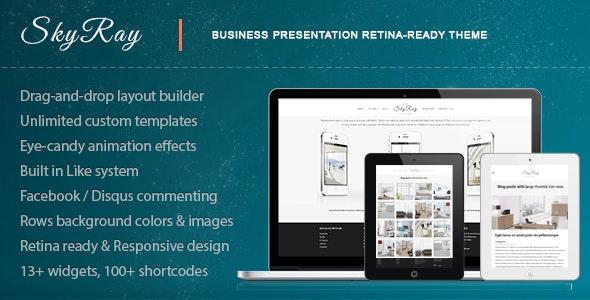 Skyray - Business Presentation Retina Theme - Corporate WordPress