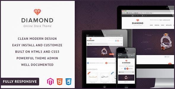 Diamond — Responsive Magento Theme - Magento eCommerce