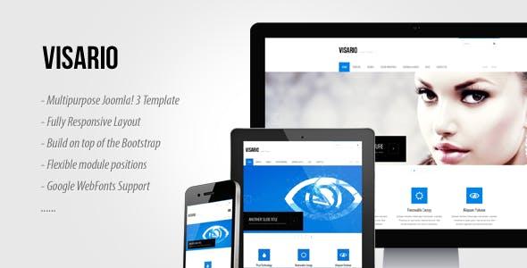 Visario - Multipurpose Responsive Joomla Template