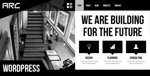 Arc - Responsive Architect Business WP Theme - Business Corporate