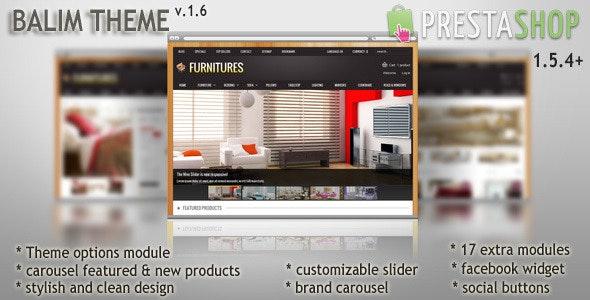 Balim Prestashop Theme - PrestaShop eCommerce