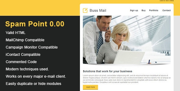 Buss Clean Email Template - Newsletters Email Templates