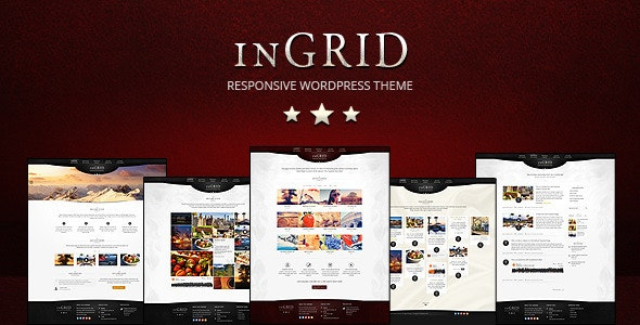 InGRID - Responsive Multi-Purpose WordPress Theme - Creative WordPress