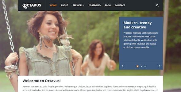Octavus Responsive Site Template