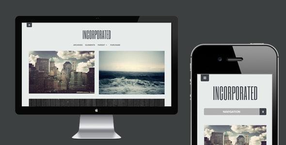 Incorporated - WordPress Theme - Personal Blog / Magazine
