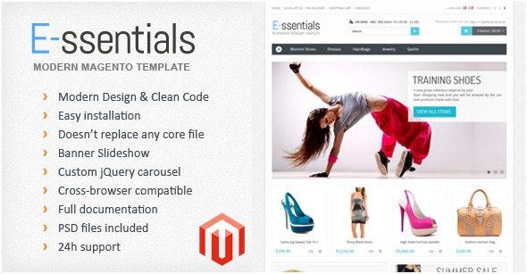 E-ssentials - Multipurpose Magento Template - Magento eCommerce
