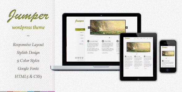 Jumper - Responsive WordPress Theme - Creative WordPress