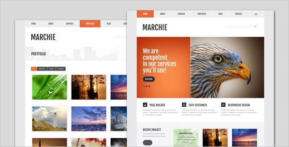 Marchie - Corporate Business WordPress Theme - Business Corporate