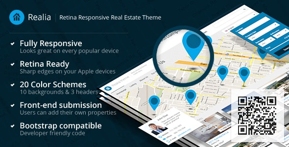 Realia - Retina Responsive Real Estate Template - Business Corporate