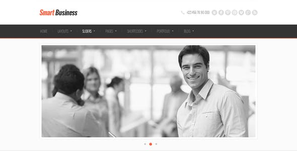 Smart Business - Responsive HTML5 Template