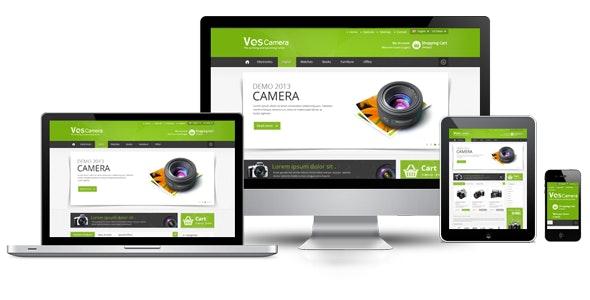 Ves Camera Responsive Theme - Technology Magento