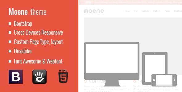 Download Moene - Responsive Concrete5 Theme