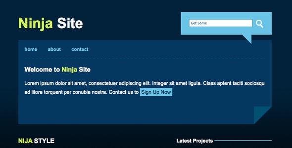 Ninja Site  - Business Corporate