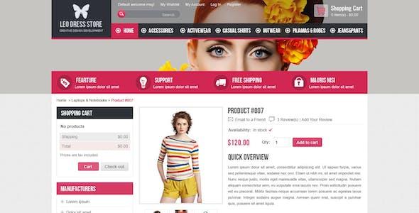 Leo Dress Store Prestashop Theme