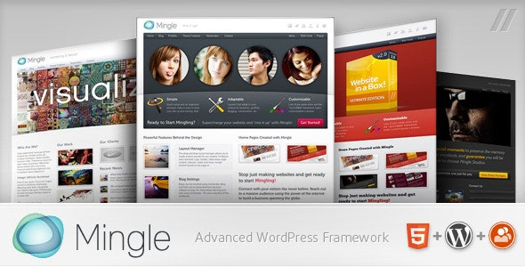 Mingle - Multi-purpose WordPress Theme - BuddyPress WordPress