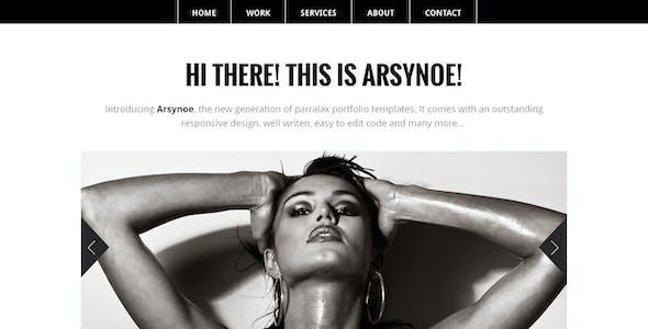 Arsynoe | Professional One Page Portfolio