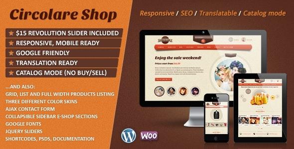 Circolare - Multi-Use WooCommerce Theme - WooCommerce eCommerce