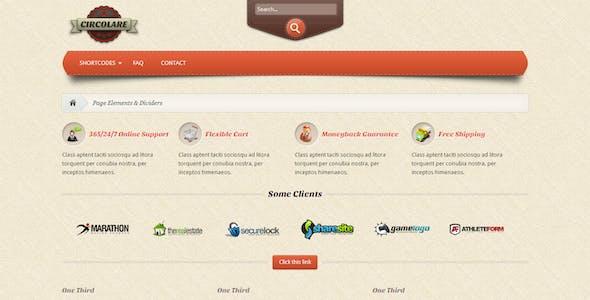 Circolare - Multi-Use WooCommerce Theme