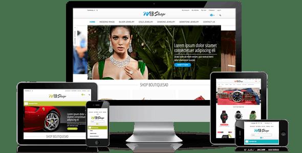 WebShop - Multi-Purpose Responsive Magento Theme - Magento eCommerce